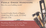 Fiddle Creek Hardware